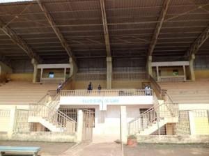 Une vue du stade