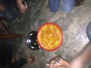Mangué Sauce ,le plat guinéen du moment , photo : Sally Bilaly Sow